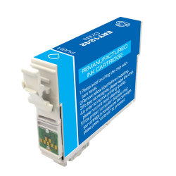 Epson T124220 (T1242) Moderate Yield Remanufactured Cyan Inkjet Cartridge