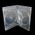 14mm Clear 4 Disc DVD Case With 1 Tray