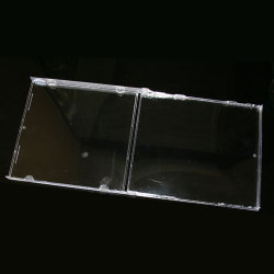 Unassembled Jewel Case Clear Case Only