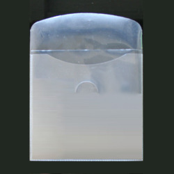 Premium Grade CD DVD CPP Clear Plastic Sleeves With Flap