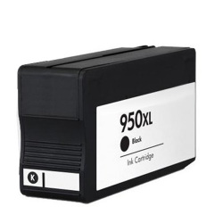 HP 950XL (CN045AN) High Yield Compatible Black Ink Cartridge with OEM Chip