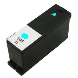 Lexmark 100XL (14N1093) Compatible Extra High Capacity Cyan Inkjet Cartridge