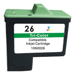 Lexmark 10N0026 (No. 26) Compatible Color Inkjet Cartridge