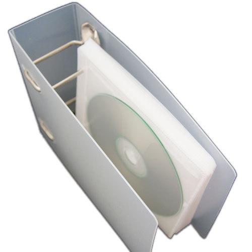36 Disc Clear PP Plastic CD/DVD Ring Binder