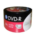 HP Logo Branded 16X DVD-R Blank Media Discs