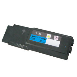 Dell 593-BBBT (488NH) Compatible High Yield Cyan Toner Cartridge