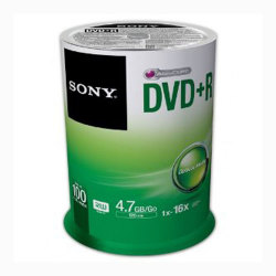 Branded 16X DVD+R Media in Cake Box