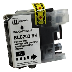 Brother LC203BK Compatible High Yield Black Ink Cartridge