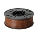 Brown 3D Printing 1.75mm ABS Filament Roll – 1 kg