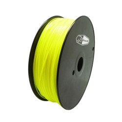 Yellow 3D Printing 1.75mm PLA Filament Roll – 1 kg
