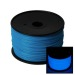 Glow in the Dark Blue 3D Printing 1.75mm ABS Filament Roll – 1 kg