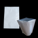 Four Ounces (1/4 LB) White Barrier Bags All White With Silver Metalized Interior