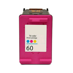 HP 60 - CC643WN Remanufactured Tri Color Inkjet Cartridge