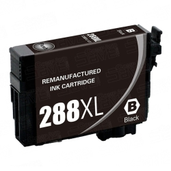 Epson T288XL120 Remanufactured High Yield Black Inkjet Cartridge
