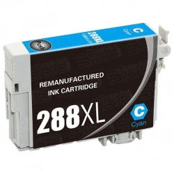 Epson T288XL220 Remanufactured High Yield Cyan Inkjet Cartridge