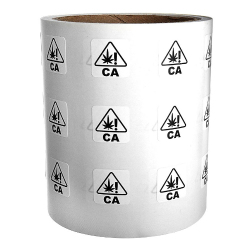 California Universal Product labels (1000 Labels Per Roll)
