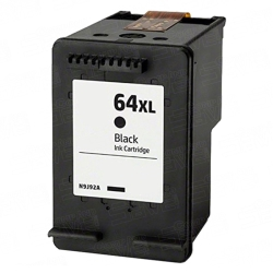 HP N9J92AN / HP 64XL Remanufactured High Yield Black Ink Cartridge