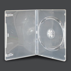 14mm Standard Clear Single DVD Case