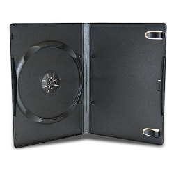 14mm Black Standard Single DVD Case
