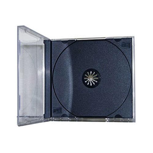 standard single black tray assembled cd jewel case. Black Bedroom Furniture Sets. Home Design Ideas