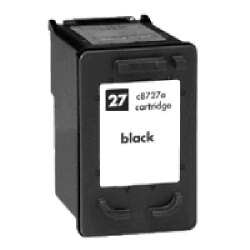 HP C8727AN (No. 27) Remanufactured Black Inkjet Cartridge