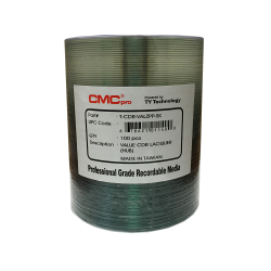 Silver Thermal Lacquer 52X CD-R  Blank Media Discs (Valueline)