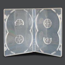 14mm Standard Clear Case (4 Discs)