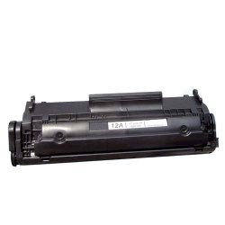 HP Q2612A (HP 12A, 2612, HP12A, HP 12, HP12) Premium Compatible Black Toner Cartridge
