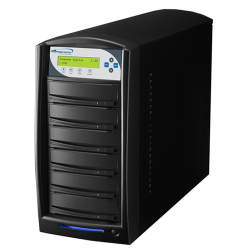 1 To 5 Target Duplicator with Plextor 24X DVD-R/+R, 12x DVD-R DL, 8x DVD+R DL Burner and 320GB Hard Drive