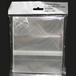 5.2mm OPP Plastic Bag For Slim Jewel Case