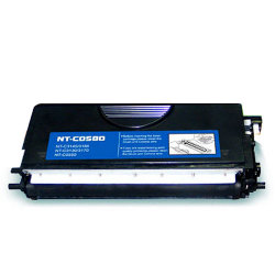 Brother TN550 / TN580 Premium Remanufactured Black Toner Cartridge
