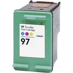 HP C9363WN (No. 97) Remanufactured Tri-Color Ink Cartridge