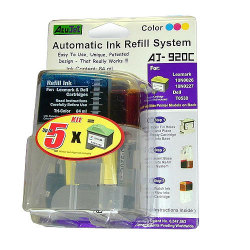Lexmark 10N0026 / Dell T0530 Automatic Refill Ink System