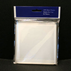 Crystal Clear Vinyl CD/DVD Sleeves - No Flap
