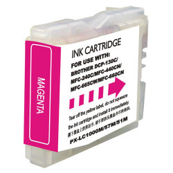 Brother LC-51M Compatible Magenta Multifunction Inkjet Cartridge