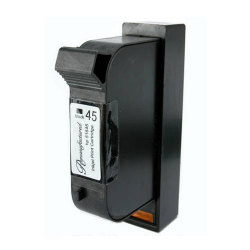 HP 51645A (No. 45) Remanufactured Black Inkjet Cartridge