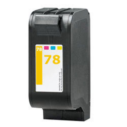 HP C6578AN (No. 78) Remanufactured Tri-Color Inkjet Cartridge