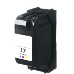 HP C6625AN (No. 17) Remanufactured Tri-Color Inkjet Cartridge