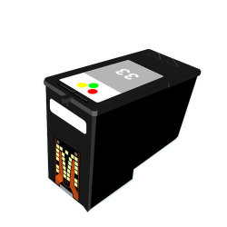 Lexmark 18C0033 (No. 33) Remanufactured Color Inkjet Cartridge