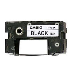 Casio TR18BK Black Ribbon Cartridge