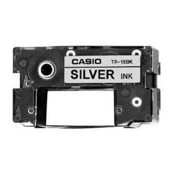 Casio (TR18RD) Silver Ribbon Cartridge