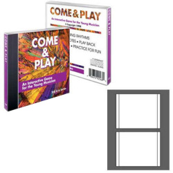 Laser Gloss Double Sided Jewel Case Tray Liners (CIP-192948 )