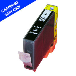 Canon CLI-8BK Remanufactured Black Inkjet Cartridge with Chip