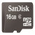 16GB MicroSD High Capacity Card with SD Adapter Retail