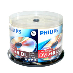Branded Dual Layer 8X DVD+R DL Blank Disc