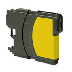 Brother LC-61Y Compatible Yellow Multifunction Inkjet Cartridge