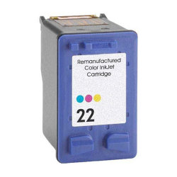 HP C9352AN (No. 22) Remanufactured Color InkJet Cartridge