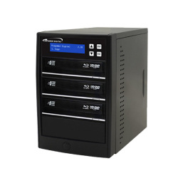 Hard Drive To 3 Target Duplicator with 12X Blu-ray Burner and 500GB Hard Drive