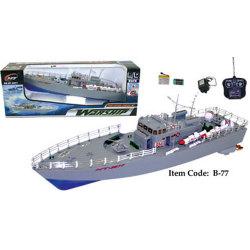 Shop4Tech - 19.5-inch Remote Control Warship - $25.46
