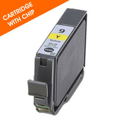Canon PGI-9Y Compatible Yellow Inkjet Cartridge with Chip